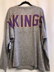 NFL Women's Minnesota Vikings Pro Line Fanatics Long Sleeve Shirts