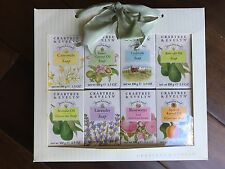 Crabtree & Evelyn 8 piece Soap Set-Lavender, Camomile, Rosewater....