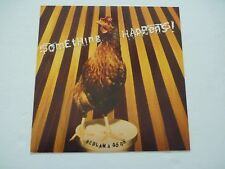 Something Happens Bedlam a Go Go Promo LP Record Photo Flat 12x12 Poster