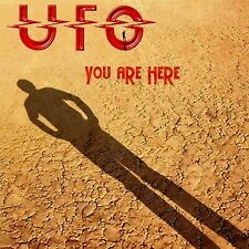 UFO You Are Here BANNER HUGE 4X4 Ft Fabric Poster Tapestry Flag band album cover