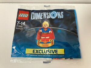 Supergirl - LEGO Dimensions - Polybag 71340 Brand New, Sealed, Tracked Postage