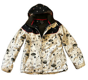 O'neill Winter Snowboard Jacket Coat Warm Size M Really Good Condition Pre Owned