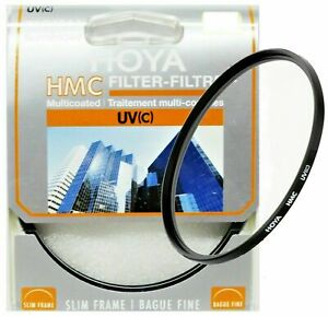 Hoya 62mm UV (C) HMC Digital Slim Frame Lens Filter - New & Sealed UK Seller