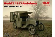 ICM 35661 1/35 WWI American Car Model T 1917 Ambulance