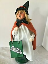 Byers Choice Halloween Witch Trick or Treat Caroler 2011 QVC Exclusive Skeleton