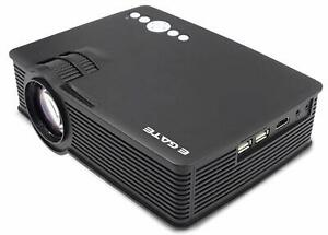 EGATE i9 LED HD Projector (Black) HD 1920 x 1080 - 120-inch Display free ship