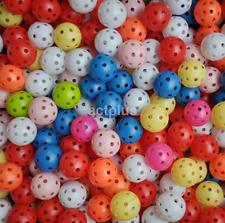 New 20pcs Hollow Plastic Practice Golf Ball Balls Small Ball US