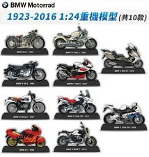 Taiwan Exclusive Classic BMW 1/24 Motorrad Motorcycle x10 Full Set