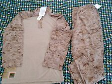 NWT USMC Desert Digital Frog Shirt and Frog Pants COMBO Size: XTRA LARGE LONG