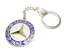 Mercedes Benz Not Silver Plated 925 Totally Silver Keychain 21 gr