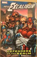 New Excalibur - Vol. 1 Defenders of the Realm - VF - tpb - Claremont - Marvel
