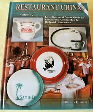 RESTAURANT CHINA Vol 2 ID & Value Guide Restaurant Airline Ship Railroad China