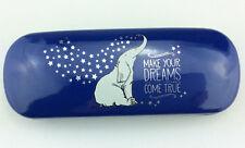 "Secrets Brillenetui Brillenbox Hartschale  Elefant  ""make your dreams come true"""