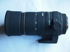 SONY A MOUNT Sigma APO DG 135 - 400 mm F/4.5-5.6 Lens + HOOD + CAPS + CASE + BOX