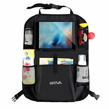 Skiva Car Back Seat Organizer Multi-Pocket Travel Storage With Touch Screen iPad