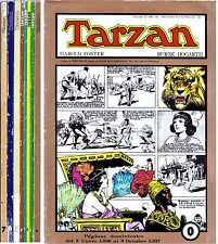 TARZAN de Burne Hogarth. Colección completa (8 tomos) Ed. Joaquin Esteve, 1982.