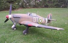 1/4 Scale Hawker Hurricane  Giant Scale RC AIrplane Printed Plans & Templates