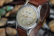 Vintage SEELAND Triple Date Calendar 17 Jewel Men's Dress Watch