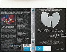 Wu-Tang Clan-Live At Montreux-2007-Wu-Tang Clan-Music Band-DVD