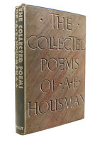 A. E. Housman THE COLLECTED POEMS OF A. E. HOUSMAN  1st Edition Early Printing