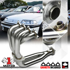SS 4-2-1 Exhaust Header Manifold for 88-00 Civic/CRX/Del Sol D-Series D15/D16 I4
