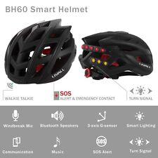 Smart aufladbare USB Fahrrad Sturzhelm  Bluetooth Fahrradhelm