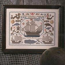 New World Sampler Prairie Schooler Cross Stitch Pattern Book 34 REPRINT