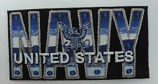 """U.S.NAVY LETTERS WITH LOGO PATCH 4"""")"""