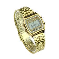 Watch Men Business Women Watches Golden Gold Watch Casio Military Analog Steel