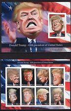 Donald Trump.USA President.Satire - imperf. - Private issue - (B11)