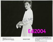 KATE NELLIGAN Vintage Original AUTOGRAPH Photo 1982 WITHOUT A TRACE Hand Signed