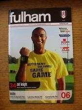 28/10/2006 Fulham v Wigan Athletic  (No Apparent Faults)