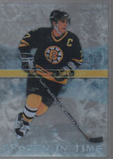RAY BOURQUE 2006-07 UPPER DECK TRILOGY FROZEN IN TIME CARD#FT16 872/999
