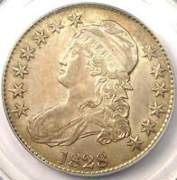 1828 Capped Bust Half Dollar 50C - PCGS AU55 PQ - Rare Certified Coin