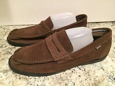 Nautica Men's Shoes Moccasins Loafers Casual Dress Formal Suede Brown 13 New