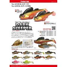 Megabass Worm DARK SLEEPER 3inch 3 / 4oz. Biwako Yoshinobori 37285 F/S JAPAN