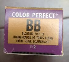 Wella Color Perfect Permanent Cream Gel Haircolor BB Blonding Booster 1:2