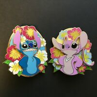 Stitch and Angel - 2 Pin Set - Limited Edition 50 - FANTASY Disney Pin 0