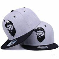 Cool Hip Hop Cap Men Women Baseball Hats Casual Adjustable Outdoor Flat Snapback