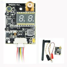 5.8GHz 40CH 600mW Mini FPV Audio Video Transmitter Double LED Display