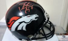 Peyton Manning Signed Broncos Riddell Mini Helmet 3 DAY SALE PRICE