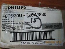 "15 X  F8T5/30U SYLVANIA Cool White 8 W Lamp 12"" Linear Fluorescent Light Bulb (s"