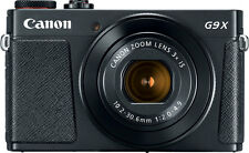 Canon PowerShot G9 X Mark ii Camera with Quality Case and Memory Card (Black)