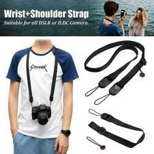 Quick Release DSLR Camera Cuff Wrist Belt &Leash Shoulder Strap Sling-Buckl E1A3