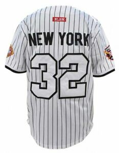 BLACK YANKEES NEGRO LEAGUE BASEBALL JERSEY WHITE Edition NEGRO LEAGUE JERSEY