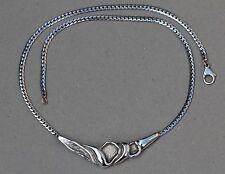 Hermann Siersbol HS Vintage Modernistic Danish Sterling Silver Necklace 15g