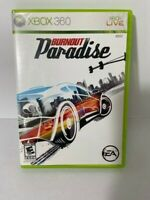 Burnout Paradise (Microsoft Xbox 360, 2008) Racing Action Complete Pre-Owned
