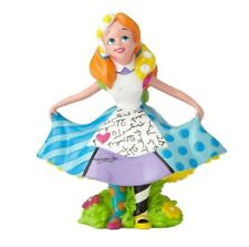 Romero Britto Disney Alice in Wonderland Miniature Pop Art Figurine 4059584 New