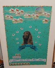 "JEANNE JO L' HEUREUX  ""DOG DREAMS"" LIMITED EDITION IRIS COLLAGE PRINT"