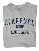Clarence Louisiana LA T-Shirt EST